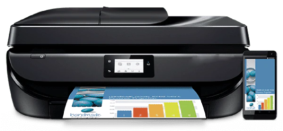How do I connect phone to HP printer?