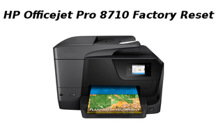 hp officejet pro 8710 factory reset