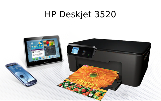 hp deskjet 3520 print from iphone