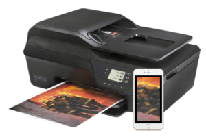 how to print from iphone to HP Officejet 4620