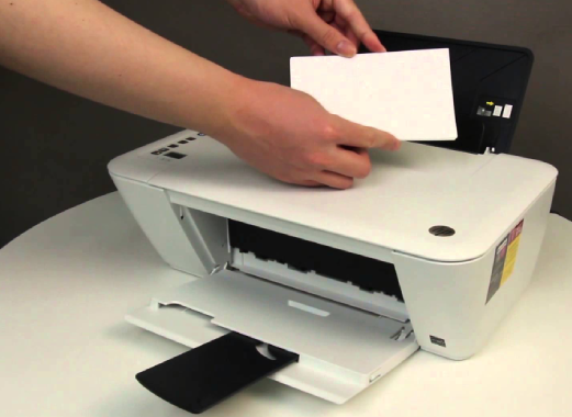 how to print hp deskjet 2548 from iphone