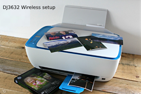 hp deskjet 3632 wireless setup