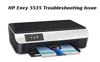 hp envy 5535 troubleshooting