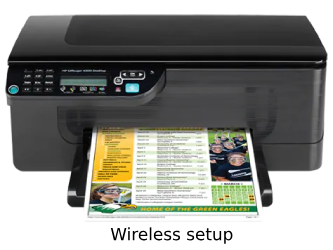 hp officejet 4500 wireless setup
