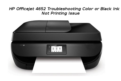 hp officejet 4652 troubleshooting