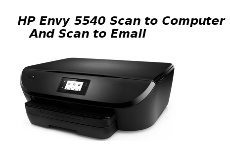hp envy 5540 scan to computer