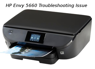 hp envy 5660 troubleshooting