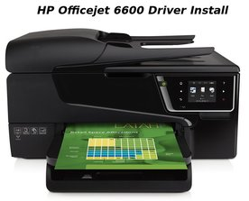 hp officejet 6600 driver install