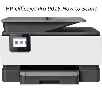 hp officejet pro 9015 how to scan