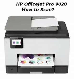 hp officejet pro 9020 how to scan