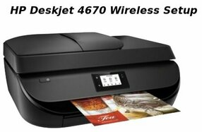 hp deskjet 4670 wireless setup