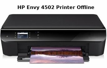 hp envy 4502 printer offline
