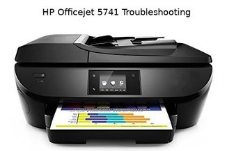 hp officejet 5741 troubleshooting