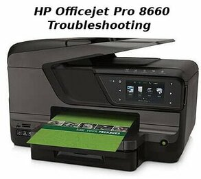 hp officejet pro 8660 troubleshooting