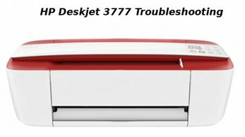 hp deskjet 3777 troubleshooting