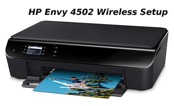 hp envy 4502 wireless setup