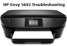 hp envy 5643 troubleshooting