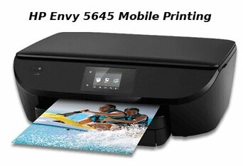 hp envy 5645 mobile printing