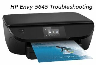 hp envy 5645 troubleshooting