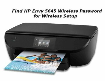 hp envy 5645 wireless setup