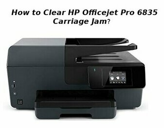 hp officejet pro 6835 carriage jam