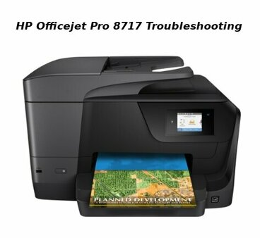 hp officejet pro 8717 troubleshooting