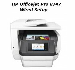 hp officejet pro 8747 wired setup